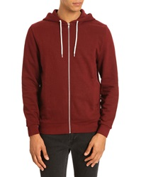 Menlook Label Burgundy Kobe Hoody