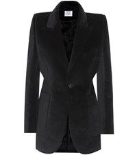 Vetements Velvet Blazer Black