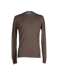 Alpha Studio Knitwear Jumpers Men Khaki