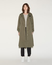 Maison Martin Margiela Washed Coat Olive