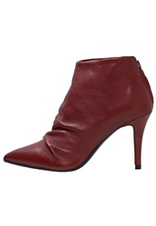 Eden Ankle Boots Rouge Red