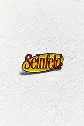 Urban Outfitters Seinfeld Logo Pin Yellow