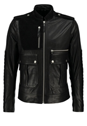 Filippa K M. Cooper Leather Jacket Black