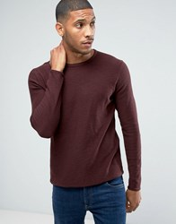 Only And Sons Knitted Jumper Fudge Red