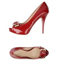 Guess Footwear Courts Women Brick Red