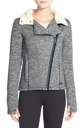 Women's Bench 'Raiseout' Stand Collar Jacket Total Eclipse