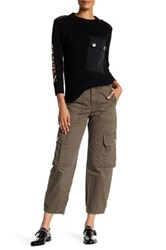 Marc By Marc Jacobs Cropped Cargo Pant Green
