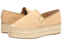 Guess Tava New Nude Suede Women's Slip On Shoes Beige