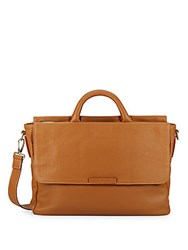 Marc By Marc Jacobs Robbie G Leather Messenger Bag Light Brown