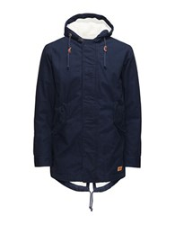 Jack And Jones Jorbenson Parka Jacket Navy Balzer