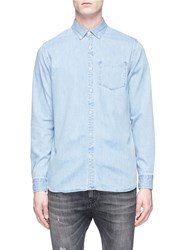 Denham Jeans 'The Standard' Denim Shirt Blue
