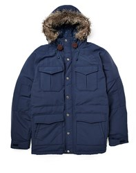 Levi's Mountain Parka With Down Fill Blue