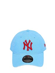 New Era Mlb 920 Ny Yankees Cotton Baseball Hat Light Blue