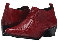 Stacy Adams Santee Red Men's Pull On Boots