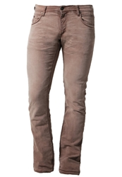 Meltin Pot Martin Slim Fit Jeans Terracotta Light Brown