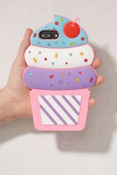 Urban Outfitters Ice Cream Silicone Iphone 8 7 6 Plus Case Multi