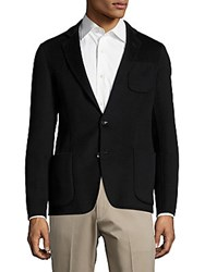 Armani Wool And Cashmere Jacket Black