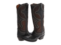Lucchese M4862 Black Cowboy Boots