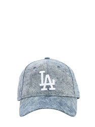 New Era 9Twenty Cotton Denim Baseball Hat Blue