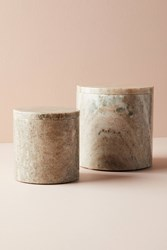 Anthropologie Marble Canister Neutral