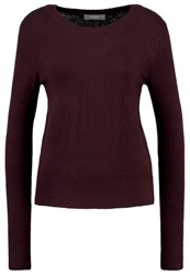 Oasis The Perfect Jumper New Wine Bordeaux