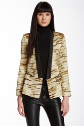 Fate Animal Print Jacket Multi