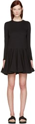 Edit Black Circle Skirt Dress