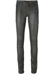 Diesel Black Gold Skinny Fit Shiny Jeans