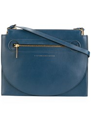 Victoria Beckham Moon Light Crossbody Bag Blue