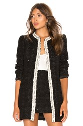Alice Olivia Andreas Midnight Jacket Black