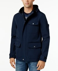 G.H. Bass And Co. Men's Utility Rain Coat Navy