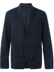 Joseph Two Button Blazer Blue