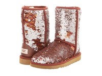 Ugg Classic Sparkles Camo Autumn Women's Dress Pull On Boots Brown