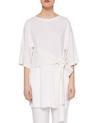 Ted Baker Says Relax Olympy Knit Tunic Ivory