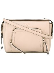 Dkny Chelsea Vintage Cross Body Bag Women Leather One Size Nude Neutrals