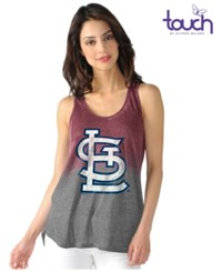 G3 Sports Women's St. Louis Cardinals Twisted Tank Red Gray