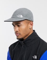 The North Face Reversible Fleece Norm Hat In Black Gray