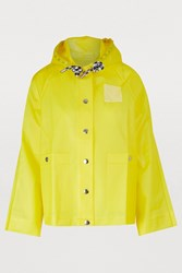 Proenza Schouler Waterproof Coat 20658 Buttercup Care Label