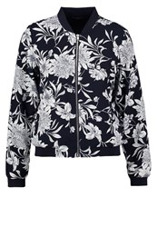 Only Onlflour Bomber Jacket Night Sky Dark Blue