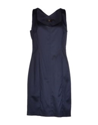 Nuvola Short Dresses Dark Blue