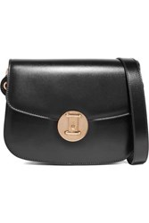 Calvin Klein 205W39nyc Leather Shoulder Bag Black