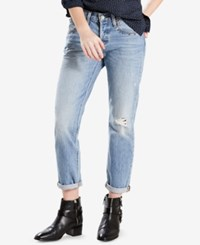Levi's 501 Cotton Ripped Tapered Jeans Culture Shock