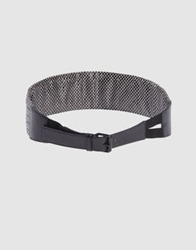 Balenciaga Belts Black
