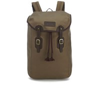 Barbour Men's Wax Leather Backpack Stone
