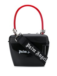 Palm Angels Padlock Tote Bag Black
