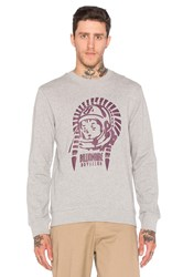 Billionaire Boys Club Native Logo Crewneck Gray