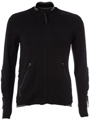 The Soloist Zipped Sweatshirt Black