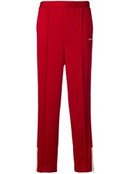 Ambush Side Stripe Track Trousers Red