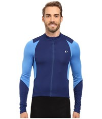 Pearl Izumi Select Pursuit Long Sleeve Jersey Blue X2 Men's Clothing