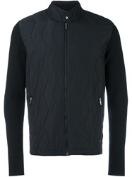 Z Zegna Padded Front Jacket Black